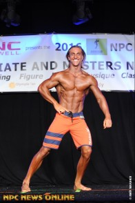 Front pose from Teen, Collegiate, Masters' Nationals 2016