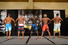 Back pose Comparisons at 2016 Greater Gulf States